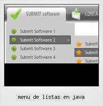 Menu De Listas En Java