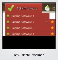 Menu Dhtml Taskbar