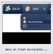 Menu En Flash Movimiento Horizontal