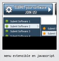 Menu Extensible En Javascript