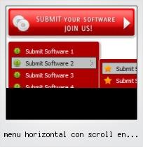 Menu Horizontal Con Scroll En Javascript