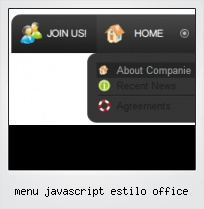Menu Javascript Estilo Office