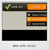 Menu With Scroll