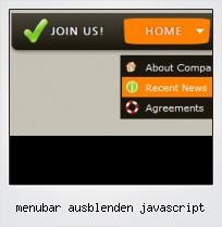 Menubar Ausblenden Javascript