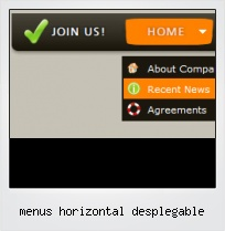 Menus Horizontal Desplegable