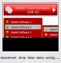 Mouseover Drop Down Menu Using Javascript