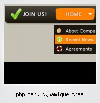 Php Menu Dynamique Tree