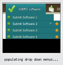 Populating Drop Down Menus Javascript