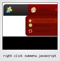 Right Click Submenu Javascript