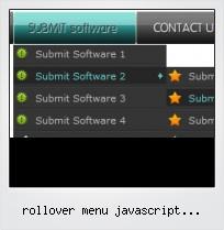 Rollover Menu Javascript Horizontal