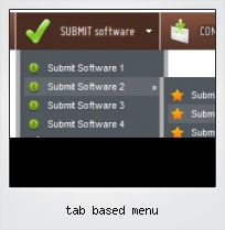 Tab Based Menu