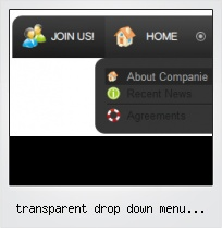 Transparent Drop Down Menu Tutorial