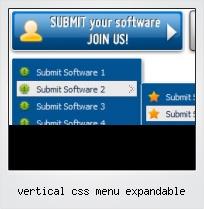 Vertical Css Menu Expandable