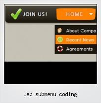 Web Submenu Coding