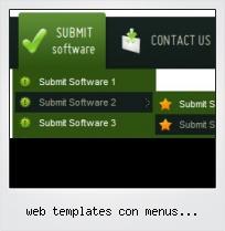 Web Templates Con Menus Desplegables