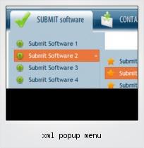 Xml Popup Menu
