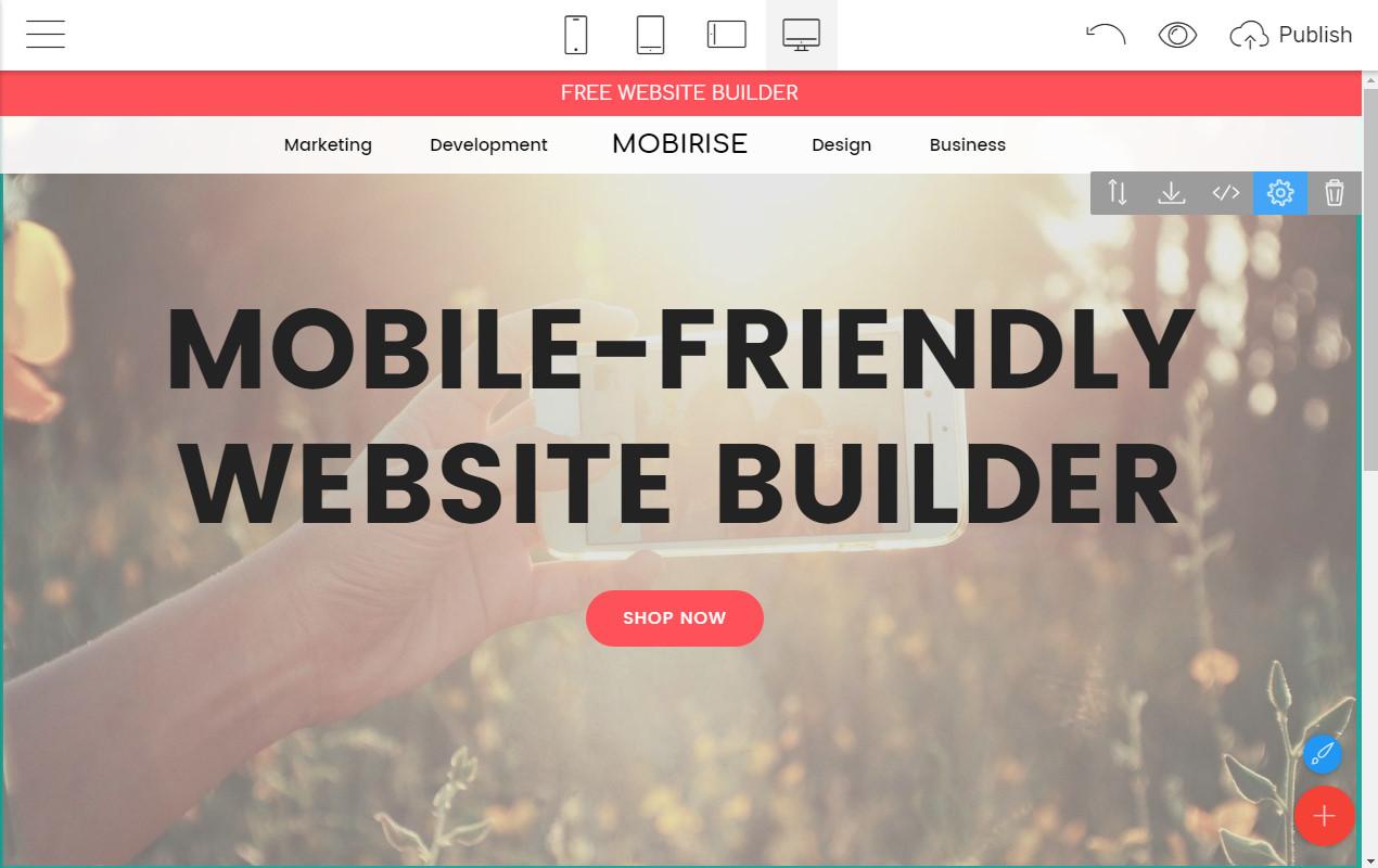 Responsive Webpage Creator