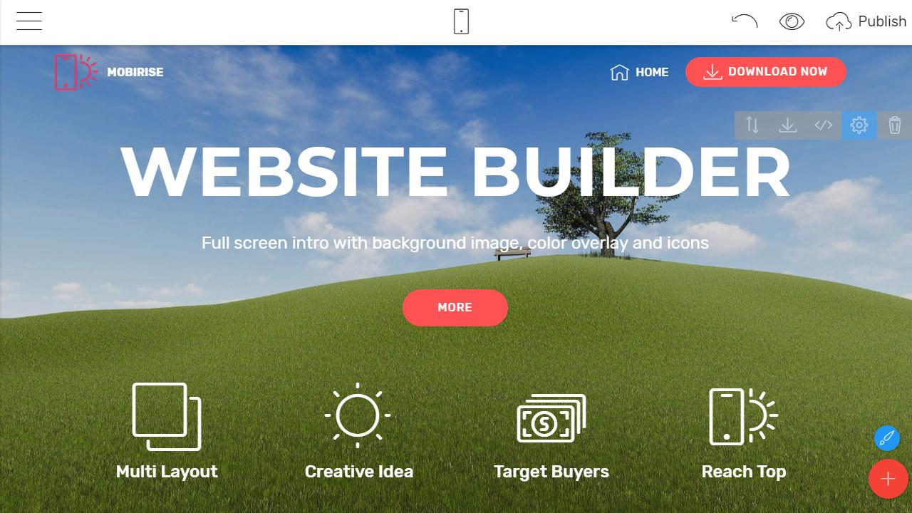 free website builder software