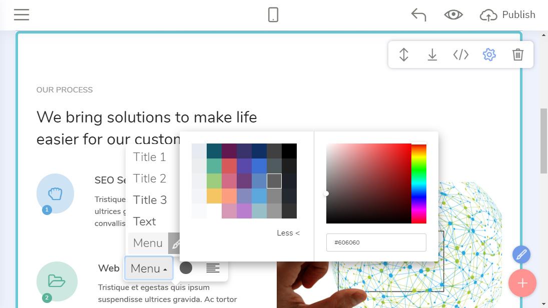 Offline Web Design Creator
