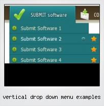 Vertical Drop Down Menu Examples